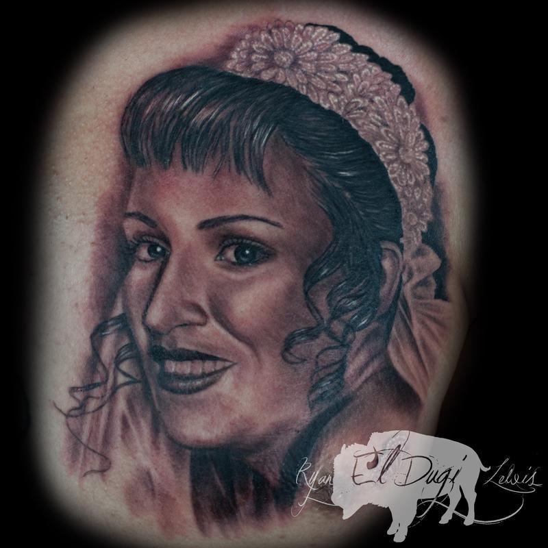 Tattoos - Mothers portrait  - 103811