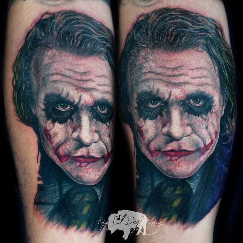 Tattoos - Heath Ledger Joker  - 108274