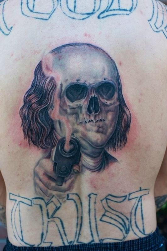 Tattoos - Dead Ben Franklin - 79466