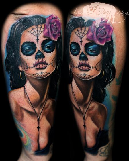 Ryan El Dugi Lewis - Day of the Dead girl