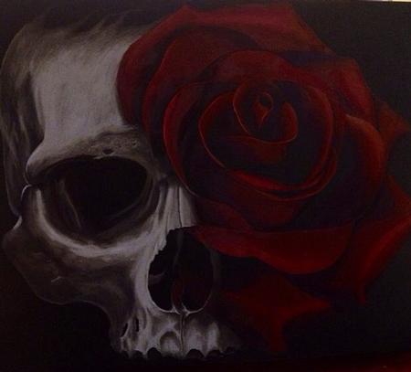 Ryan El Dugi Lewis - Skull Rose