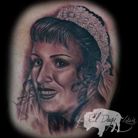Tattoos - Mothers portrait  - 103811