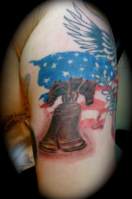 Tattoos - Liberty Bell