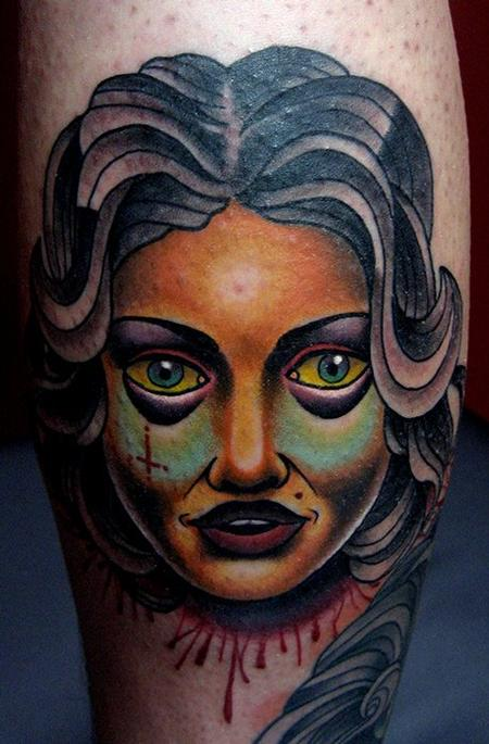 Jonathan Montalvo - Chola Cochinola tattoo