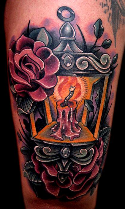 Lantern tattoo Tattoo Design Thumbnail