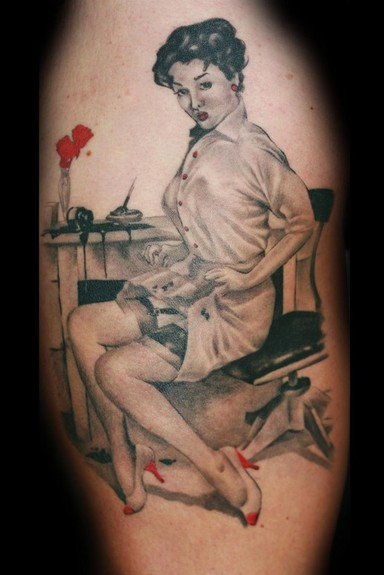 Pinup Tattoo Tattoo Design