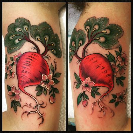Best friend beet tattoo Design Thumbnail