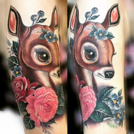 Tattoos - Baby deer - 122189
