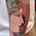 Realistic Woman Tattoo Tattoo Thumbnail
