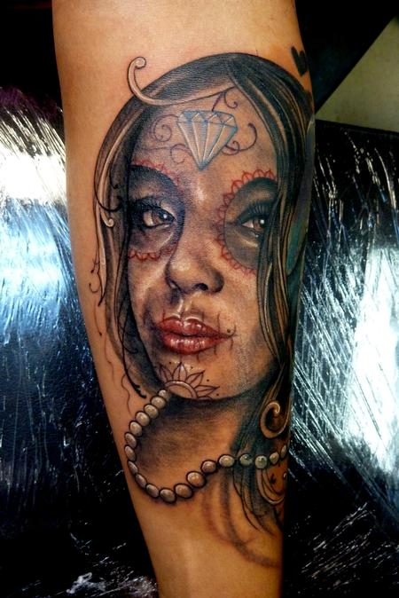 Tattoos - Day of the Dead Girl - 66433