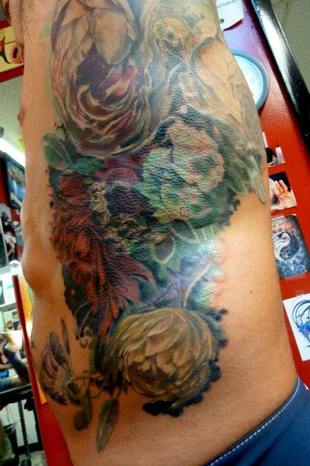 Mully - Large floral rib piece