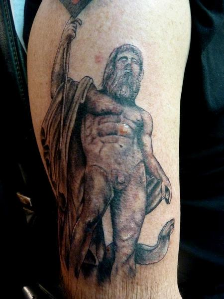 Tattoos - Poseidon Tattoo - 64091