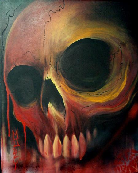 Tattoos - Redskull Painting - 64057