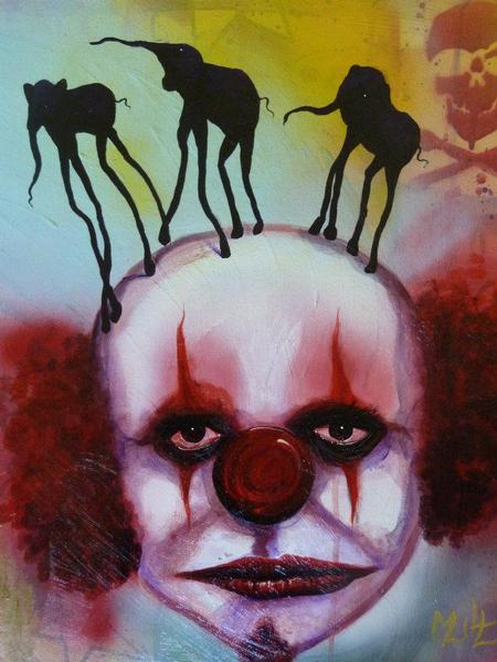 Tattoos - Blood the clown - 64141