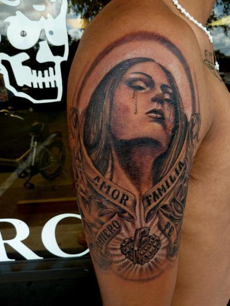Tattoos - OG Abel girl - 75610