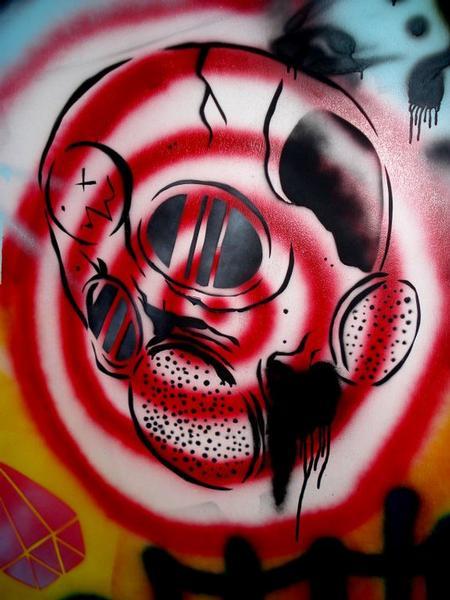 Tattoos - Gasmask skull - 64058