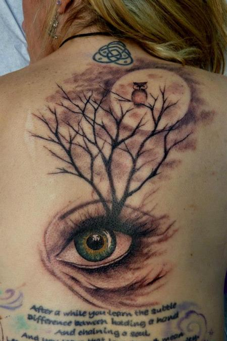 Tattoos - Eye Tree - 75617