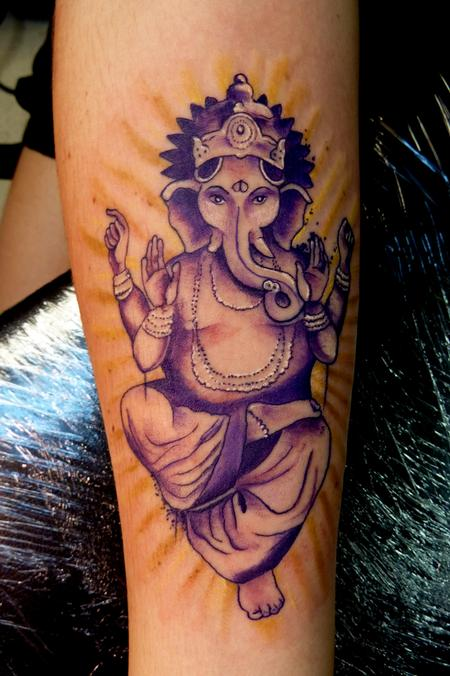 Ganesh by mully tattoos for Ganesh tattoo pictures