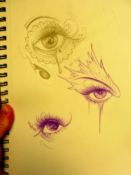 Mully - Eyes from my sketchbook