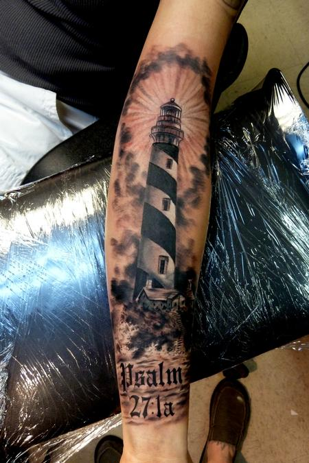 Tattoos - lighthouse  - 87376