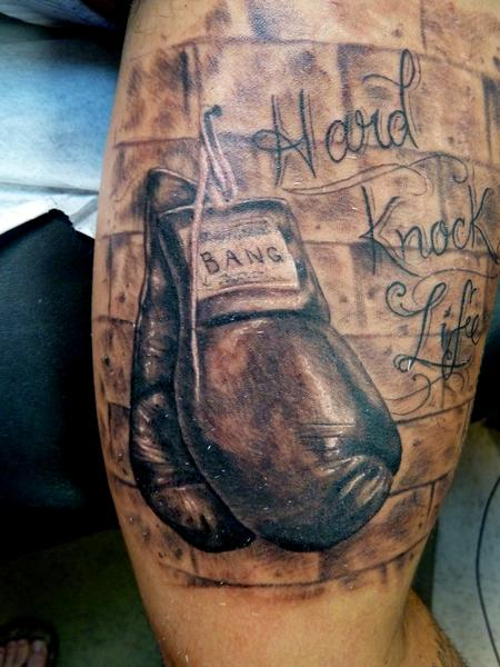 Tattoos - Boxing Gloves - 68936