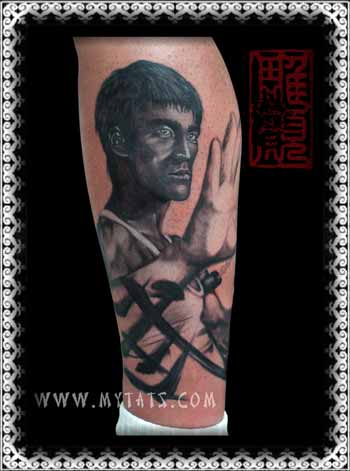 Tattoos - Bruce Lee  - 29417