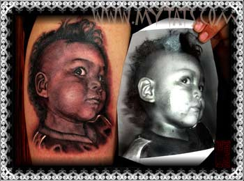 Tattoos - Child Portrait - 29285
