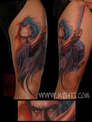Tattoos -  Samurai - 29484