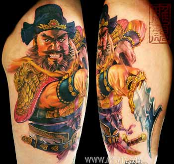Tattoos - Chinese Warrior - 29488