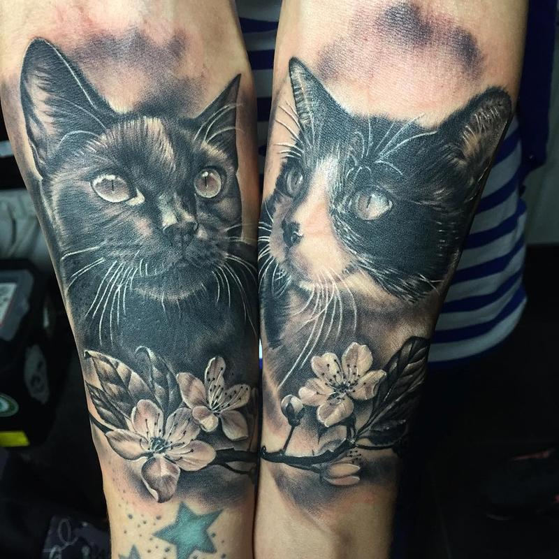 Mystic eye tattoo tattoos realistic gatos realistas for Tatoo gatos