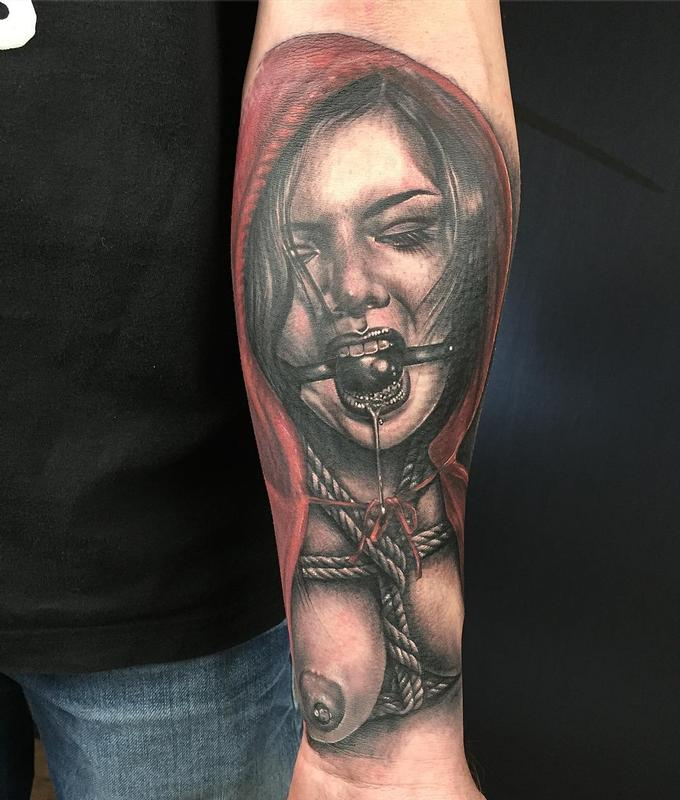 Little Red Riding Hood By Yarda : Tattoos