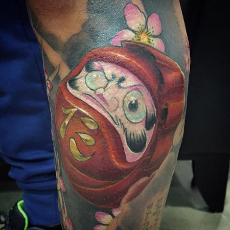 Tattoos - Daruma New school - 117450