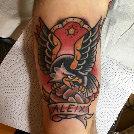 Tattoos - Aguila tradicional - 117428