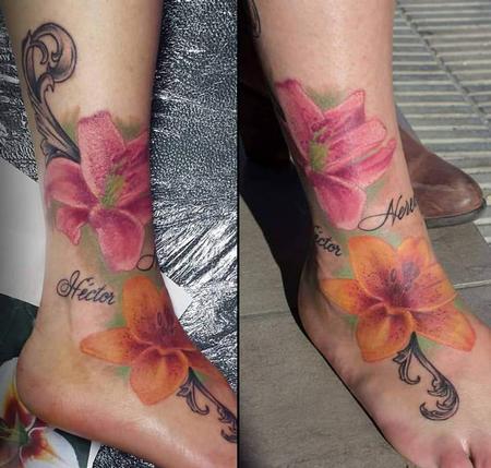 Tattoos - Lilium a color - 117520