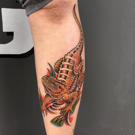 Tattoos - Pogona tradicional - 117231