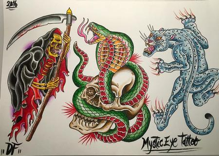 Tattoos - Flash tradicional - 119151