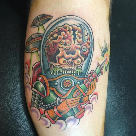 Tattoos - Mars attacks tradi - 119152