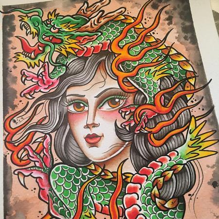 Delfoco - Chica Dragón