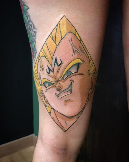 Tattoos - Majin Vegeta in Color - 128834