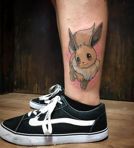 Tattoos - Eevee Pokemon in Color - 129960