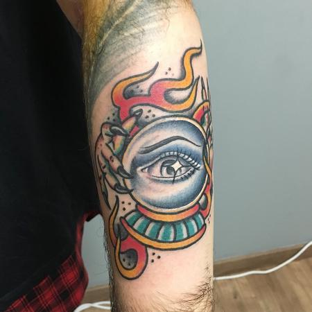 Tattoos - Bola de cristal tradi - 132048