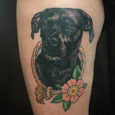 Tattoos - Dog portrait - 133320