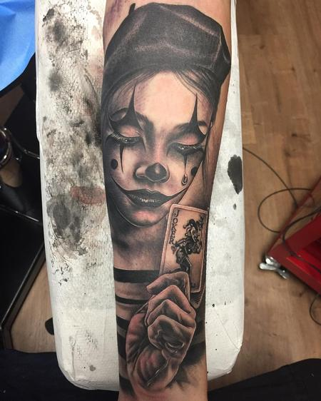 Mime tattoo Design Thumbnail