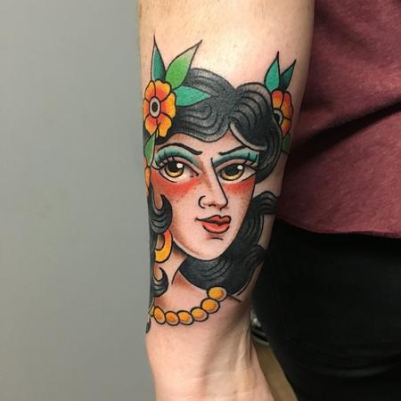 Tattoos - chica tradi - 133804