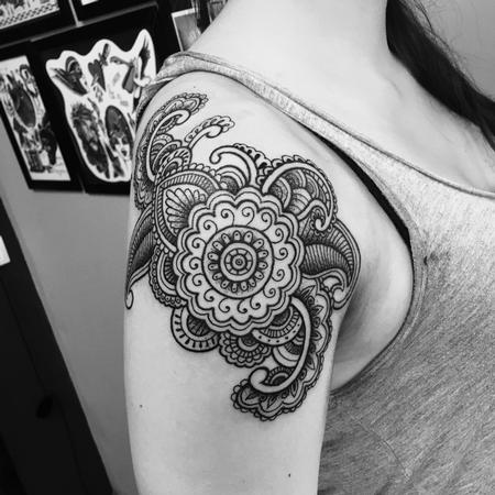Tattoos - Mandala Ornamental - 127143