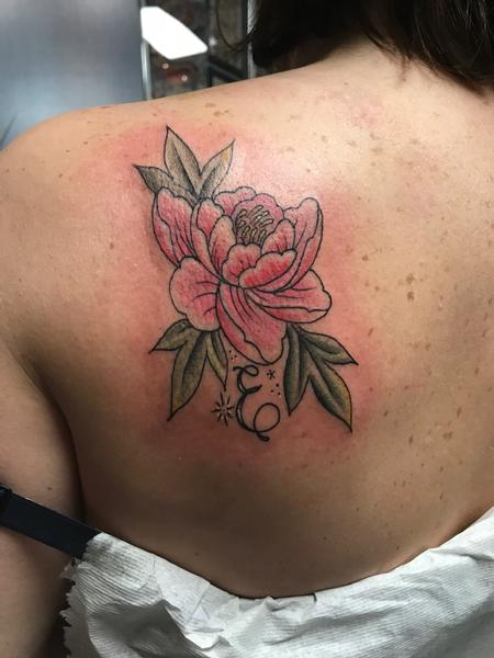 Tattoos - Color Peony - 131915