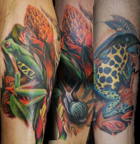 Tattoos - rainforest tattoo - 58247