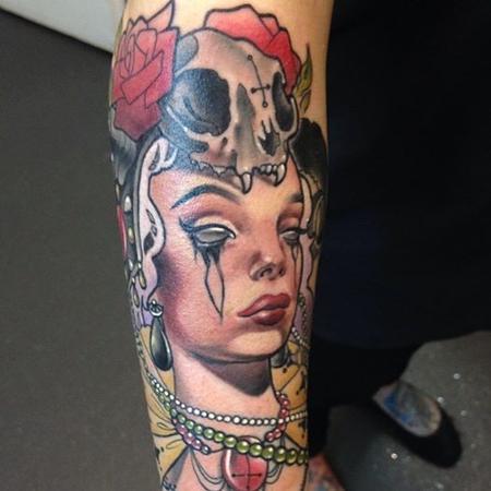 Nakota Garza - Closer view of Evil Woman