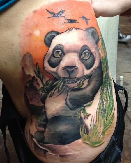 Tattoos - Panda Cover-Up - 92064