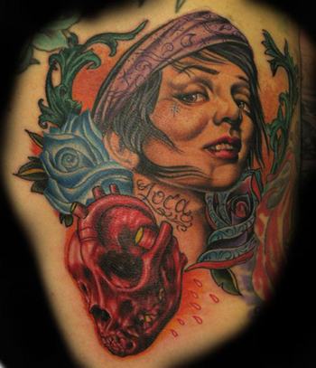 Tattoos - Collaborative Tattoo featuring John Montgomery - 22355